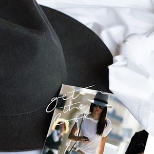 Accessories - NWT Floppy Fedora Hat w/Lace-Up Accent